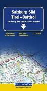 Cover-Bild zu Salzburg Süd - Tirol - Osttirol. 1:150'000 von Hallwag Kümmerly+Frey AG (Hrsg.)