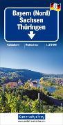 Cover-Bild zu Bayern Nord. 1:275'000 von Hallwag Kümmerly+Frey AG (Hrsg.)