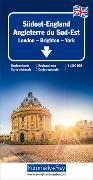 Cover-Bild zu Südost-England 1:300 000. 1:300'000 von Hallwag Kümmerly+Frey AG (Hrsg.)