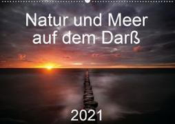 Cover-Bild zu Natur und Meer auf dem Darß (Wandkalender 2021 DIN A2 quer) von Aigner, Matthias