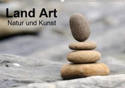 Cover-Bild zu Land Art - Natur und Kunst (Wandkalender 2021 DIN A2 quer) von Aigner, Matthias