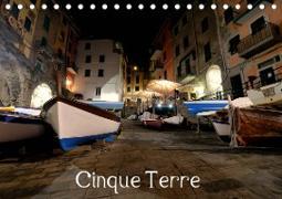 Cover-Bild zu Cinque Terre (Tischkalender 2021 DIN A5 quer) von Aigner, Matthias