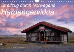 Cover-Bild zu Streifzug durch Norwegens Hardangervidda (Wandkalender 2021 DIN A4 quer) von Aigner, Matthias