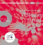 Cover-Bild zu Blaue Frau von Strubel, Antje Rávik