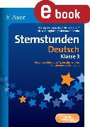 Cover-Bild zu Sternstunden Deutsch - Klasse 3 (eBook) von Benda, A.