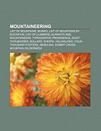 Cover-Bild zu Mountaineering von Source: Wikipedia (Hrsg.)