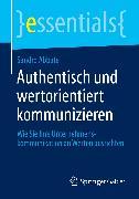 Cover-Bild zu Authentisch und wertorientiert kommunizieren (eBook) von Abbate, Sandro