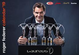 Cover-Bild zu Roger Federer Kalender 2019