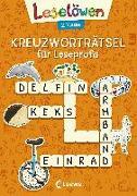 Cover-Bild zu Loewe Lernen und Rätseln (Hrsg.): Leselöwen Kreuzworträtsel für Leseprofis - 2. Klasse (Orange)