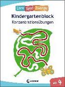 Cover-Bild zu Loewe Lernen und Rätseln (Hrsg.): Die neuen LernSpielZwerge - Konzentrationsübungen