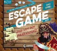 Cover-Bild zu Prieur, Rémi: Escape Game Kids - Das Spiel - Jagd nach dem Piratenschatz