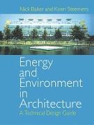 Cover-Bild zu Energy and Environment in Architecture (eBook) von Baker, Nick
