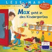 Cover-Bild zu LESEMAUS, Band 18: Max geht in den Kindergarten von Tielmann, Christian