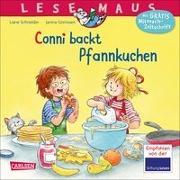 Cover-Bild zu LESEMAUS 123: Conni backt Pfannkuchen von Schneider, Liane