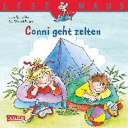 Cover-Bild zu LESEMAUS: Conni geht zelten (eBook) von Schneider, Liane