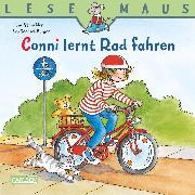 Cover-Bild zu LESEMAUS: Conni lernt Rad fahren (eBook) von Schneider, Liane