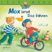 Cover-Bild zu LESEMAUS: Max lernt Rad fahren (eBook) von Tielmann, Christian