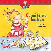 Cover-Bild zu LESEMAUS: Conni lernt backen (eBook) von Schneider, Liane
