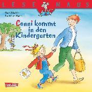 Cover-Bild zu LESEMAUS: Conni kommt in den Kindergarten (eBook) von Schneider, Liane