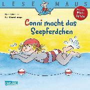Cover-Bild zu LESEMAUS: Conni macht das Seepferdchen (eBook) von Schneider, Liane