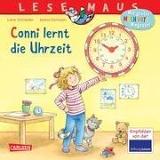 Cover-Bild zu LESEMAUS 190: Conni lernt die Uhrzeit von Schneider, Liane