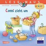 Cover-Bild zu LESEMAUS 66: Conni zieht um von Schneider, Liane