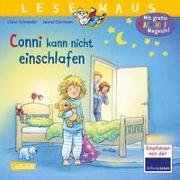 Cover-Bild zu LESEMAUS 78: Conni kann nicht einschlafen von Schneider, Liane