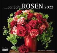 Cover-Bild zu geliebte Rosen 2022 - DUMONT Wandkalender - mit allen wichtigen Feiertagen - Format 38,0 x 35,5 cm von Perry, Clay (Fotograf)