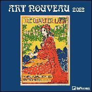 Cover-Bild zu Art Nouveau 2022 - Wand-Kalender - Broschüren-Kalender - 30x30 - 30x60 geöffnet - Kunst-Kalender von teNeues Calendars