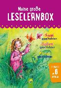 Cover-Bild zu Breitenborn, Anke: Meine große Leselernbox: Feengeschichten, Ballettgeschichten, Pferdegeschichten (eBook)