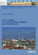 Cover-Bild zu Untersuchungen zum Arzneimittelversandhandel aus Verbrauchersicht (eBook) von Schweim, Janna K.