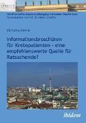 Cover-Bild zu Informationsbroschüren für Krebspatienten (eBook) von Keinki, Christian