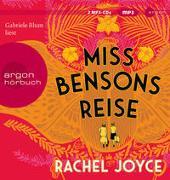 Cover-Bild zu Miss Bensons Reise von Joyce, Rachel