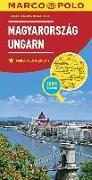 Cover-Bild zu MARCO POLO Länderkarte Ungarn 1:300 000. 1:300'000