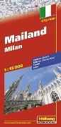 Cover-Bild zu Mailand Stadtplan 1:13 500. 1:15'000 von Hallwag Kümmerly+Frey AG (Hrsg.)