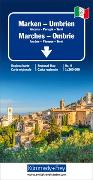 Cover-Bild zu Umbrien-Marken Regionalkarte Italien Nr. 9, 1:200 000. 1:200'000 von Hallwag Kümmerly+Frey AG (Hrsg.)