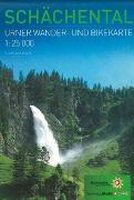 Cover-Bild zu Wander- und Bikekarte Schächental von Kanton Uri (Hrsg.)