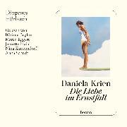Cover-Bild zu Die Liebe im Ernstfall (Audio Download) von Krien, Daniela