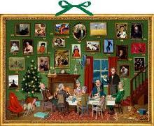 Cover-Bild zu Wand-Adventskalender - Weihnachts-Dinner von Knappe, Joachim (Illustr.)