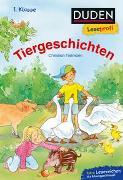 Cover-Bild zu Tielmann, Christian: Duden Leseprofi - Tiergeschichten, 1. Klasse