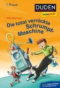 Cover-Bild zu Wiechmann, Heike: Duden Leseprofi - Die total verrückte Schrumpf-Maschine, 1. Klasse