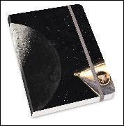 Cover-Bild zu Notizbuch Mondlandung - Torben Kuhlmann - Format DIN A5 von Kuhlmann, Torben (Zeichn.)