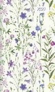 Cover-Bild zu Taschenplaner Style Wildblumen 2022 - Taschen-Kalender 9,5x16 cm - seperates Adressheft - 1 Seite 1 Woche - 64 Seiten - Notiz-Heft - Alpha Edition von ALPHA EDITION (Hrsg.)