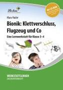 Cover-Bild zu Bionik: Klettverschluss, Flugzeug und Co (Set) von Hasler, Mara