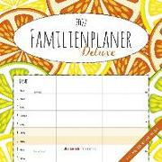 Cover-Bild zu Familienplaner Deluxe 2022 - Broschürenkalender 30x30 cm (30x60 geöffnet) - Kalender mit Platz für Notizen - 5 Spalten - Bildkalender - Wandplaner von ALPHA EDITION (Hrsg.)