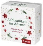 Cover-Bild zu Achtsamkeit im Advent von Groh Verlag