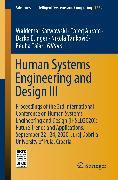 Cover-Bild zu Human Systems Engineering and Design III (eBook) von Karwowski, Waldemar (Hrsg.)