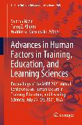 Cover-Bild zu Advances in Human Factors in Training, Education, and Learning Sciences (eBook) von Nazir, Salman (Hrsg.)