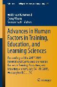 Cover-Bild zu Advances in Human Factors in Training, Education, and Learning Sciences (eBook) von Karwowski, Waldemar (Hrsg.)