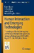 Cover-Bild zu Human Interaction and Emerging Technologies (eBook) von Ahram, Tareq (Hrsg.)